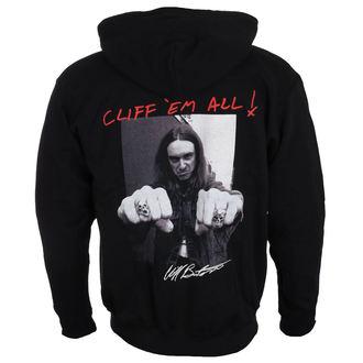 Herren Hoodie Metallica - Cliff Burton -, NNM, Metallica