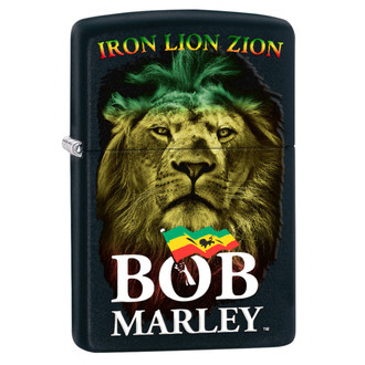 Feuerzeug ZIPPO - BOB MARLEY - NEIN. 8, ZIPPO, Bob Marley