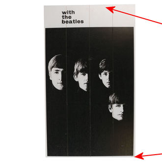 Holzbild The Beatles - A Hard Days Night - PYRAMID POSTERS - BESCHÄDIGT, PYRAMID POSTERS, Beatles