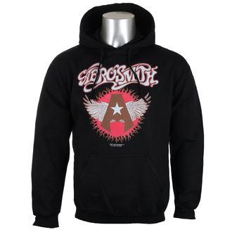 Herren Hoodie Aerosmith - Flying A Logo - HYBRIS, HYBRIS, Aerosmith
