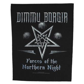 Rückenaufnäher Patch groß Dimmu Borgir - Forces Of The Northern Night - RAZAMATAZ, RAZAMATAZ, Dimmu Borgir