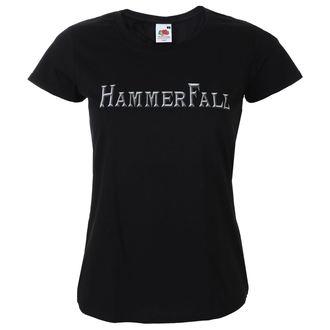 Damen T-Shirt Metal Hammerfall - Logo - NAPALM RECORDS, NAPALM RECORDS, Hammerfall