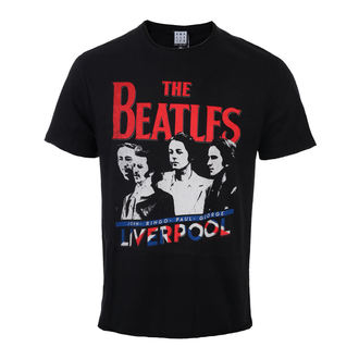Herren T-Shirt Metal Beatles - Liverpool - AMPLIFIED, AMPLIFIED, Beatles