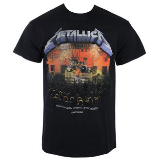 Herren T-Shirt Metal Metallica - Stockholm 86 -, NNM, Metallica
