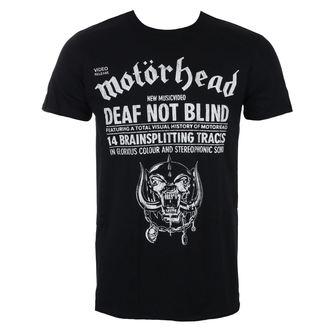 Herren T-Shirt Metal Motörhead - Deaf Not Blind - ROCK OFF, ROCK OFF, Motörhead
