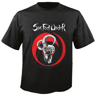 Herren T-Shirt Metal Six Feet Under - Goatskull - NUCLEAR BLAST, NUCLEAR BLAST, Six Feet Under