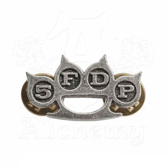 Reißzwecke Five Finger Death Punch - Knuckle Duster - ALCHEMY GOTHIC, ALCHEMY GOTHIC, Five Finger Death Punch