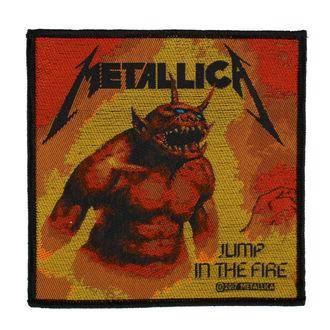 Aufnäher METALLICA - JUMP IN THE FIRE - RAZAMATAZ, RAZAMATAZ, Metallica