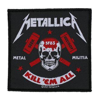 Aufnäher METALLICA - METAL MILITIA - RAZAMATAZ, RAZAMATAZ, Metallica