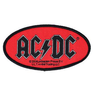 Aufnäher AC / DC - OVAL LOGO - RAZAMATAZ, RAZAMATAZ, AC-DC