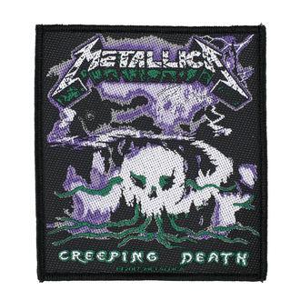 Aufnäher METALLICA - CREEPING DEATH - RAZAMATAZ, RAZAMATAZ, Metallica