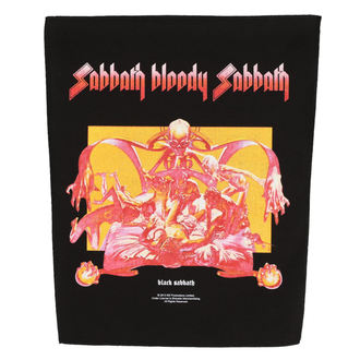 Aufnäher groß BLACK SABBATH - SABBATH BLOODY SABBATH - RAZAMATAZ, RAZAMATAZ, Black Sabbath