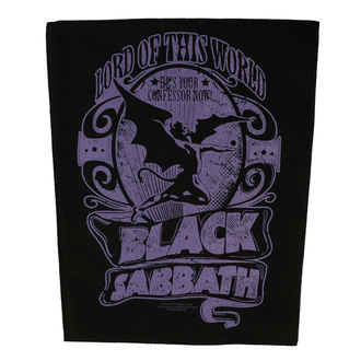 Aufnäher groß BLACK SABBATH - LORD OF THIS WORLD - RAZAMATAZ, RAZAMATAZ, Black Sabbath