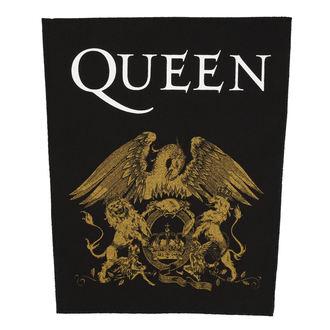 Aufnäher groß QUEEN - CREST - RAZAMATAZ, RAZAMATAZ, Queen