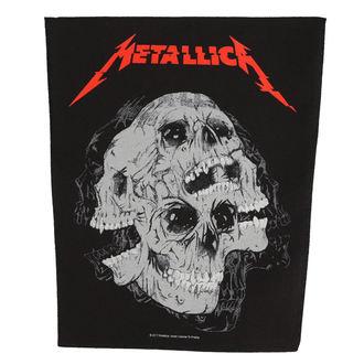 Aufnäher groß METALLICA - SKULLS - RAZAMATAZ, RAZAMATAZ, Metallica