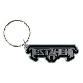 Schlüsselanhänger TESTAMENT - LOGO - RAZAMATAZ, RAZAMATAZ, Testament