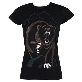 Damen T-Shirt Hardcore - BEAR NECESSITIES - GRIMM DESIGNS, GRIMM DESIGNS
