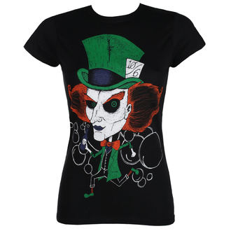 Damen T-Shirt Hardcore - MAD HATTER - GRIMM DESIGNS, GRIMM DESIGNS