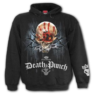 Herren Hoodie Five Finger Death Punch - Five Finger Death Punch - SPIRAL, SPIRAL, Five Finger Death Punch