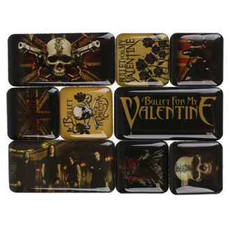 Magnet (9er Pack) Bullet For My Valentine, NNM, Bullet For my Valentine