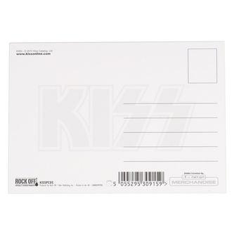 Postkarte KISS - ARMY LOGO - ROCK OFF, ROCK OFF, Kiss