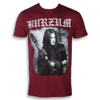 Herren T-Shirt Metal Burzum - ANTHOLOGIE 2018 (KASTANIENBRAUN) - PLASTIC HEAD, PLASTIC HEAD, Burzum