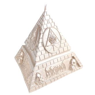 Kerze BEHEMOTH - UNHOLY TRINITY PYRAMID - MESSING - PLASTIC HEAD, PLASTIC HEAD, Behemoth