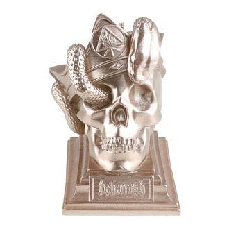 Kerze BEHEMOTH - UNHOLY TRINITY SKULL - MESSING - PLASTIC HEAD, PLASTIC HEAD, Behemoth