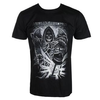 Herren T-Shirt Metal Avenged Sevenfold - REAPER LANTERN - PLASTIC HEAD, PLASTIC HEAD, Avenged Sevenfold