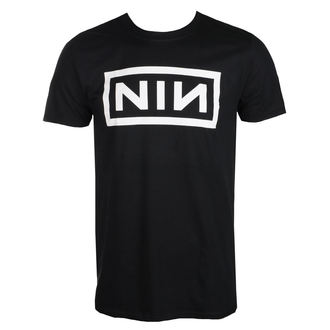 Herren T-Shirt Metal Nine Inch Nails - CLASSIC WHITE LOGO - PLASTIC HEAD, PLASTIC HEAD, Nine Inch Nails