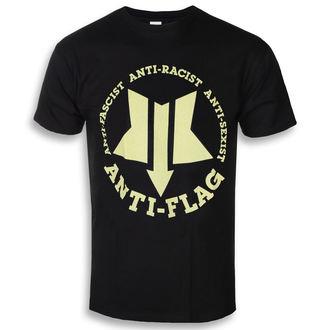 Herren T-Shirt Metal Anti-Flag - New Star - KINGS ROAD, KINGS ROAD, Anti-Flag