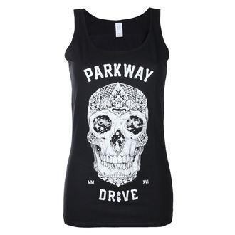 Damen Tanktop Parkway Drive - Skull - Schwarz - KINGS ROAD, KINGS ROAD, Parkway Drive