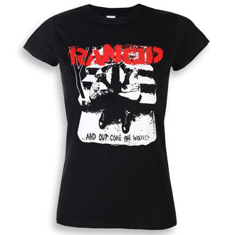 Damen T-Shirt Metal Rancid - And Out Come The Wolves - KINGS ROAD, KINGS ROAD, Rancid