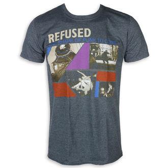Herren T-Shirt Metal Refused - The Shape Of Punk - KINGS ROAD, KINGS ROAD, Refused
