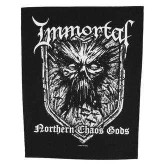 Rückenaufnäher Patch groß Immortal - Northern Chaos Gods - RAZAMATAZ, RAZAMATAZ, Immortal