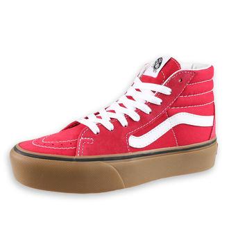 Unisex High Top Sneakers - UA SK8-Hi Plattform 2 (GUMMI) SCOOTE - VANS, VANS