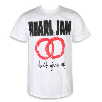 Herren T-Shirt Metal Pearl Jam - Don't Give Up White - NNM, NNM, Pearl Jam