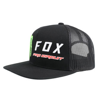 Kappe Cap FOX - Monster - Schwarz, FOX