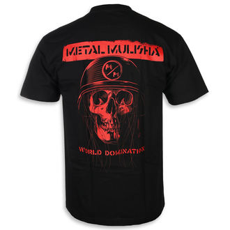 Herren T-Shirt Street - UNDEAD BLK - METAL MULISHA, METAL MULISHA