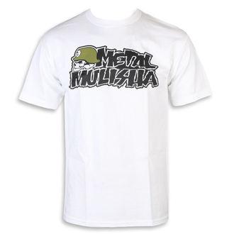 Herren T-Shirt Street - IKON WHT - METAL MULISHA, METAL MULISHA