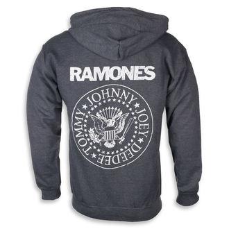 Herren Hoodie Ramones - HEY HO LET'S GO - PLASTIC HEAD, PLASTIC HEAD, Ramones