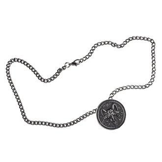 Halskette mit Anhänger Baphomet, FALON