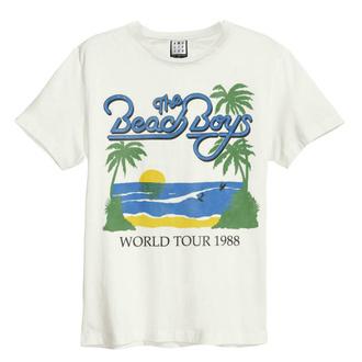 Herren T-Shirt Metal Beach Boys - 1988 TOUR - AMPLIFIED, AMPLIFIED, Beach Boys