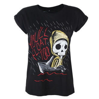 Damen T-Shirt Hardcore - SS GEORGIE - GRIMM DESIGNS, GRIMM DESIGNS