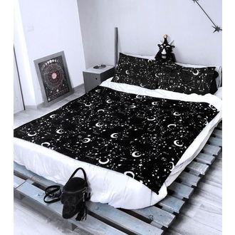 Set Decke mit Kissenbezügen KILLSTAR - Starmap - SCHWARZ, KILLSTAR