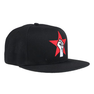 Cap Kappe Rage Against The Machine - Fist Logo - Schwarz, NNM, Rage against the machine