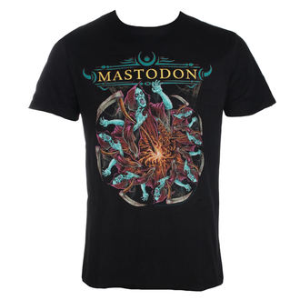 Herren T-Shirt Metal Mastodon - GRIM - AMPLIFIED, AMPLIFIED, Mastodon