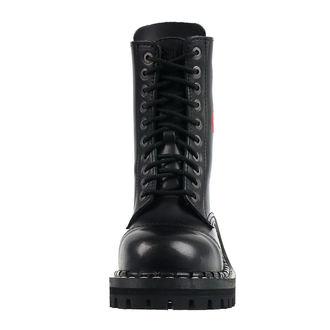 Stiefel Boots STEADY´S - 10 dírkové - Rot rose, STEADY´S
