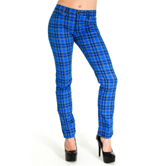 (unisex) Hose 3RDAND56th - Tartan Skinny Jeans - Blue/Tartan, 3RDAND56th