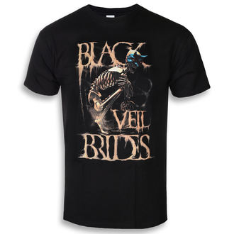 Herren T-Shirt Metal Black Veil Brides - Dust Mask - ROCK OFF, ROCK OFF, Black Veil Brides